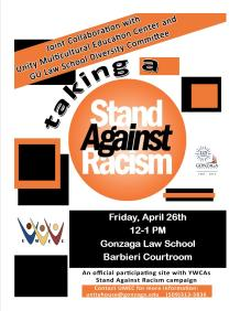 Stand Against Racism Poster