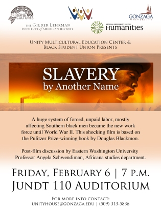 Slavery By Another Name Flyer